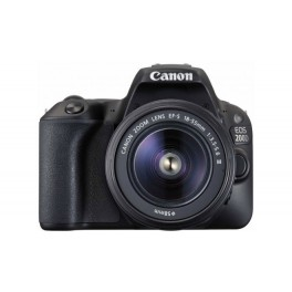Canon EOS 200D + 18-55mm DC III Kit Black