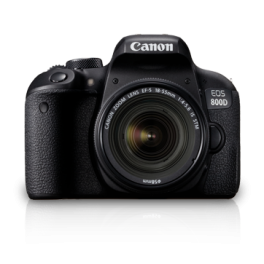 Canon EOS 800D + 18-135mm IS STM