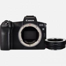 Canon EOS R + adapter EF-EOS-R + RF 24-105mm f/4L IS USM